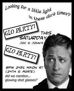Glo Party Flyer