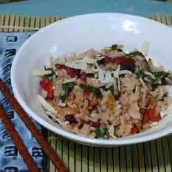 swiss chard rice