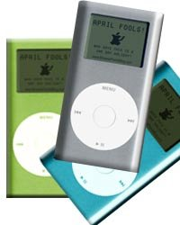 April Fool's Fake Mini Ipod