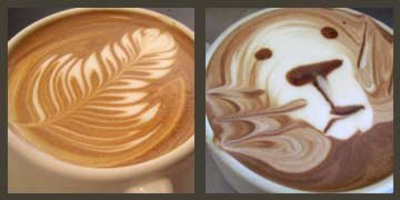 Latte Leaves and Lion