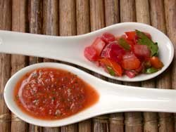 Strawberry Salsa Two Ways