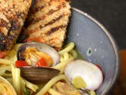 juicy steamer clams