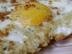 Crispy Eggs with Instant Toast