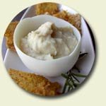 garlicky white bean puree