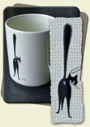 cat butt mug