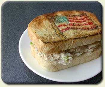 Old Glory Tuna Sandwich, Toasted