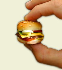 tiny burger cutie