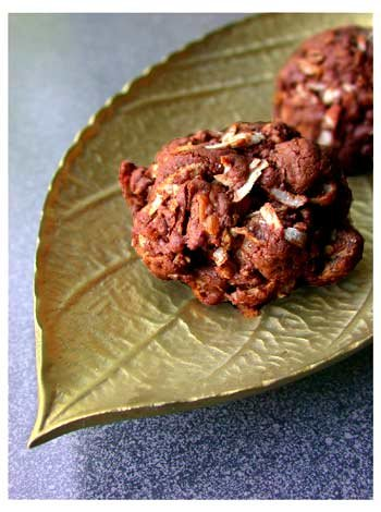 Coconut Pecan Chocolate Drops