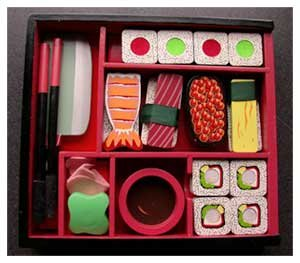 Wooden Play Sushi Set