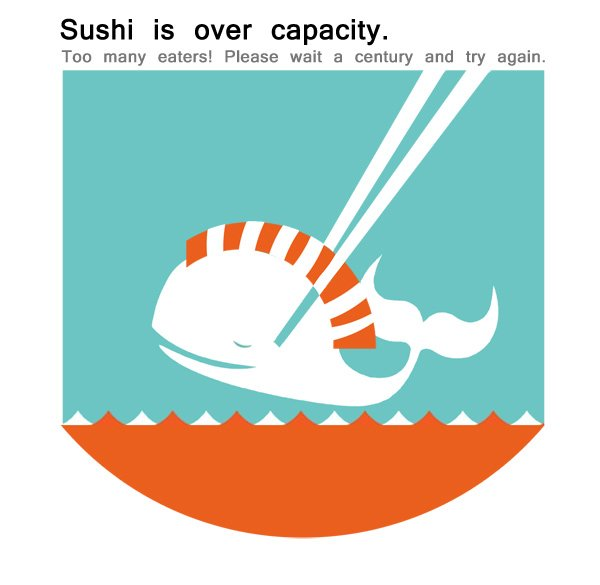 sushi over capacity